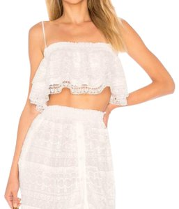 white/cream Maxi Dress by Tularosa