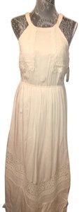 Cream Maxi Dress by Altar'd State