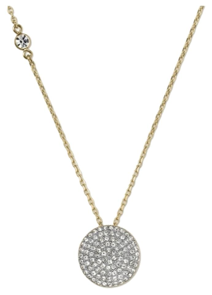 Michael kors gold necklace michael kors jewelry tradesy for Michael b s jewelry