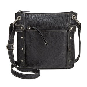 Style & Co Gunmetal Tone Cross Body Bag