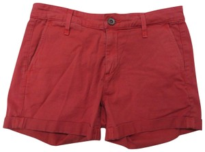 AG Adriano Goldschmied Tristan Tailored Cuffed Shorts Coral