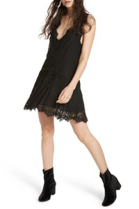 Free People Heart In Two Lace Mini Dress