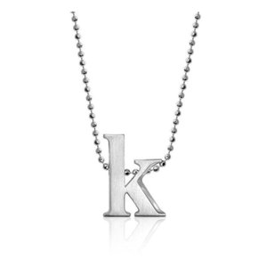 Alex Woo Alex Woo Initial K Letter Necklace 16' NEW