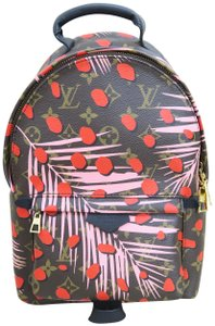 Louis Vuitton Palm Springs Jungle Dots Coated Backpack