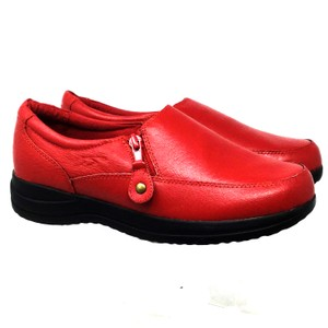 Dr. Scholl's Air-pillo Side Sip Us 6.5 red Mules