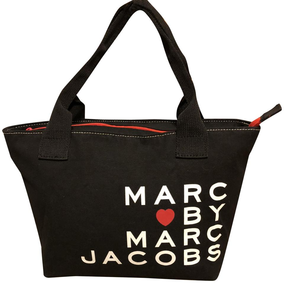 2bb5d61e301f Marc by Marc Jacobs Tote Lunch Black Canvas Tote - Tradesy