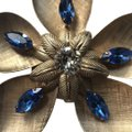 Napier Large Vintage '50's Flower Brooch