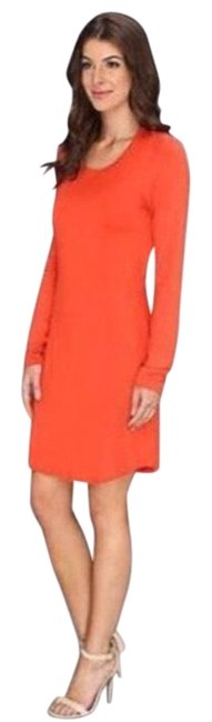 Item - Tangerine Kaylee Open Back Mid-length Night Out Dress Size 12 (L)