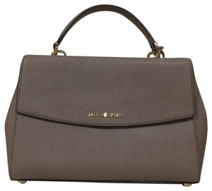 Michael Kors Collection Satchel in gray
