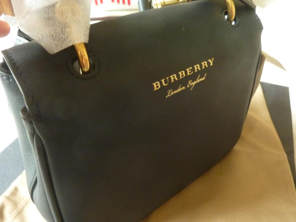 Burberry Small Dk88 Top-handle Black Leather Cross Body Bag - Tradesy f24a8a7593168