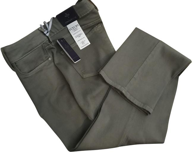 Item - Topiary Green Marilyn - Luxury Touch Denim Straight Leg Jeans Size 34 (12, L)