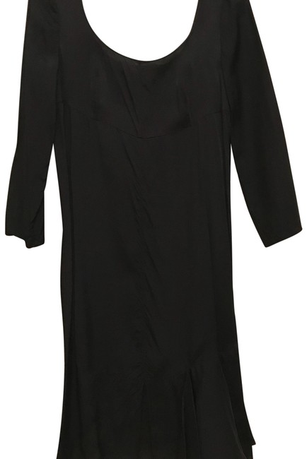 Item - Black Knee Length Mid-length Night Out Dress Size 2 (XS)