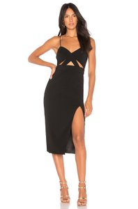 Jay Godfrey Stretchy Cut-out Midi Bodycon Night Out Dress