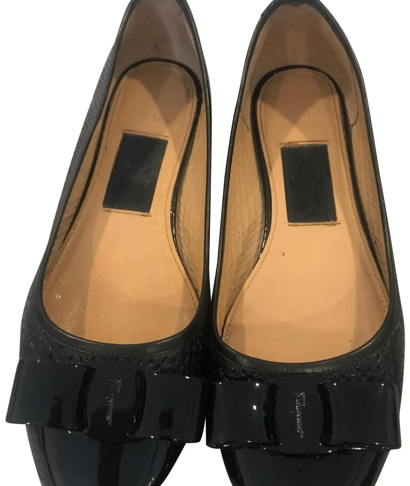 lady Salvatore classification Ferragamo Ballerina Flats Great classification Salvatore d48267