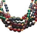 "Napier 18"" Six Strand Beaded Necklace"