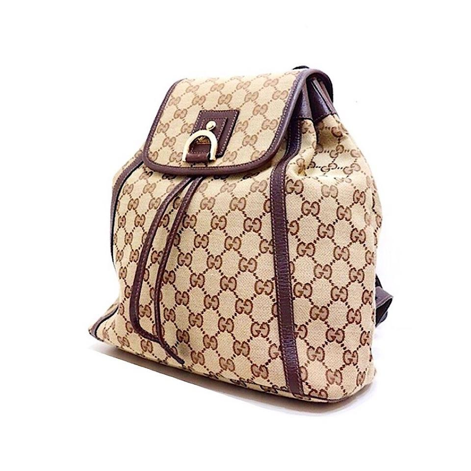 4ae7a30a68d Gucci Vintage Monogram Backpack - Tradesy
