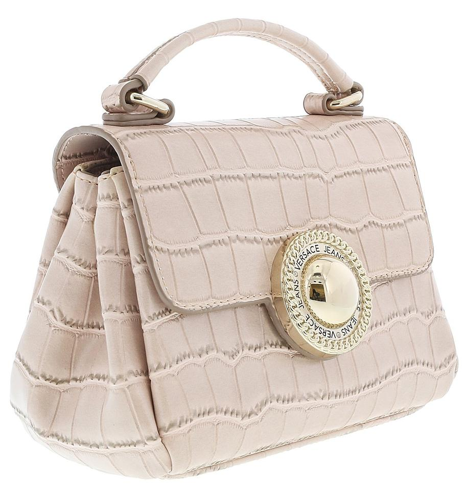 Versace Jeans Collection Light Pink Synthetic Leather Cross Body Bag ... db484190bb5c8