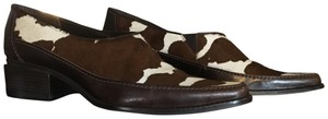 Matisse Calf Hair Loafers Animal Print Leather brown Pumps