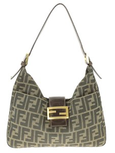Fendi Zucca Print Shoulder Bag