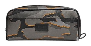 Coach $175 NWT Coach Double Zip Dopp Kit with Camo Print F31518