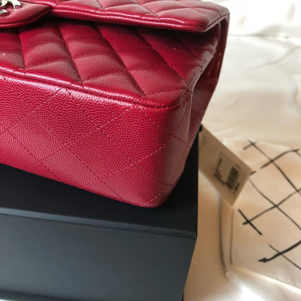 5670e51461c4 Chanel Classic Flap 18b 2018 Classic Quilted Double Pink Raspberry ...