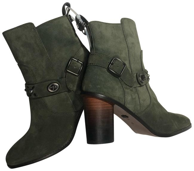 Item - Green Ankle Boots/Booties Size US 9.5 Regular (M, B)