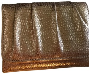 Kelly & Katie Rose Gold Faux Leather Evening Wallet