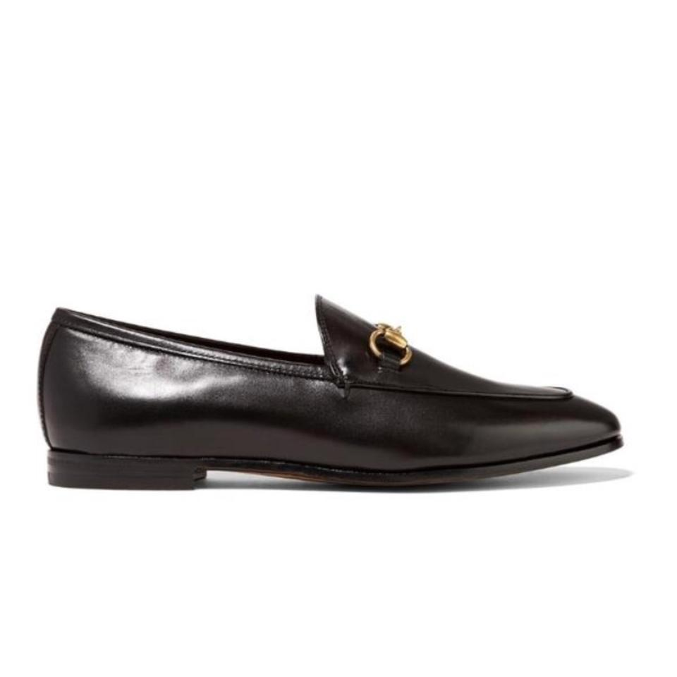 1b05e8602d2 Gucci Horsebit Jordan Leather Loafer Flats Size US 8 Regular (M