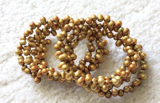 Other Hawaiian gold pearl bracelets