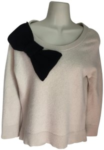 Kate Spade Cashmere Wool Bow Long Sleeve Sweater
