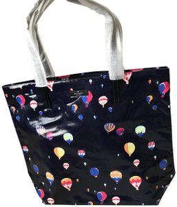 Kate Spade Balloon Tote in Navy Blue Multi-color