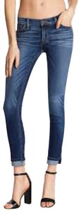 Hudson Tally Cuffed Skinny Capri/Cropped Denim