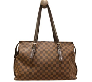 Louis Vuitton Vuittonchelsea Damier Damiercanvas Tote in Brown