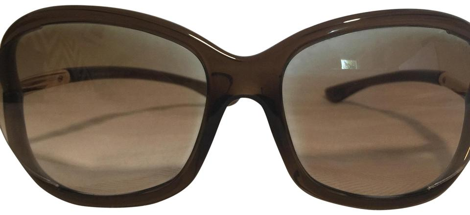 a6b9cd8ab397 Tom Ford Brown Jennifer Sunglasses - Tradesy