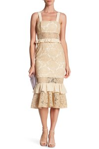 Jay Godfrey Midi Lace Dress