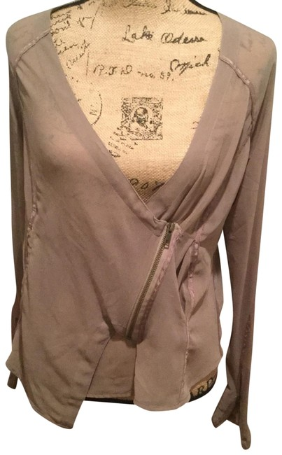 Item - Taupe 132018 Blouse Size 0 (XS)