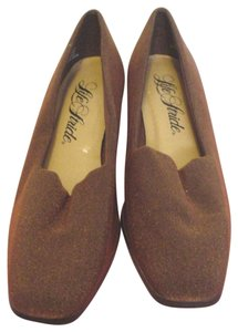LifeStride Career Chunky Copper Pumps