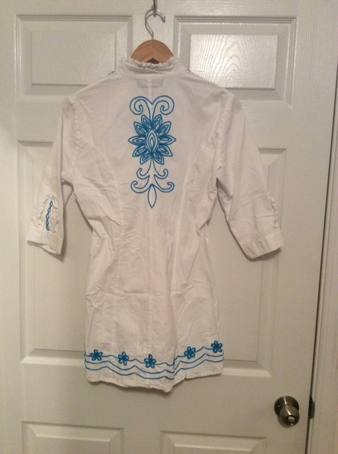 Gretty Zueger Boutique Embroidered Tunic