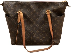 Louis Vuitton Classic Fall Designer Monogram Leather Satchel in brown