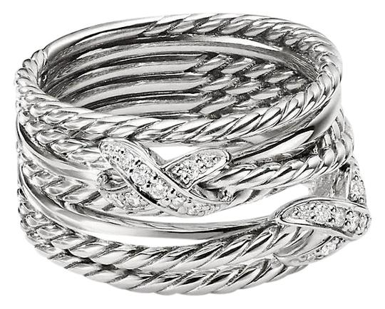 Preload https://img-static.tradesy.com/item/23954698/david-yurman-double-x-crossover-with-diamonds-size-6-ring-0-1-540-540.jpg