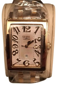 Gevril BNWT Gevril Ave of the Americas rectangular watch