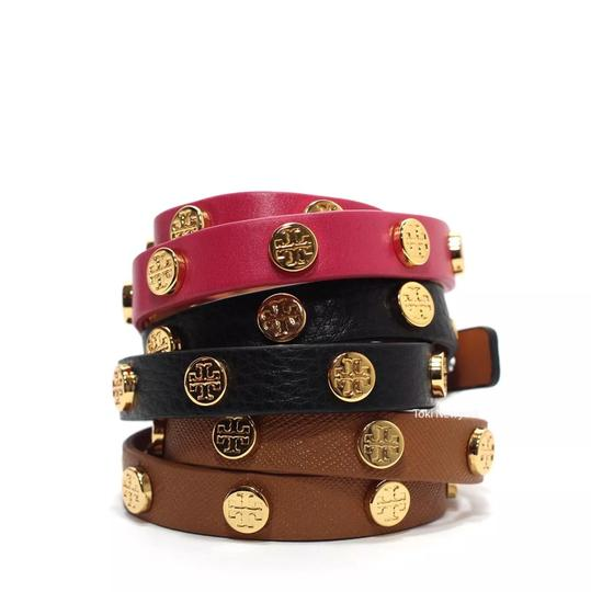 Tory Burch Leather Wrap Bracelet