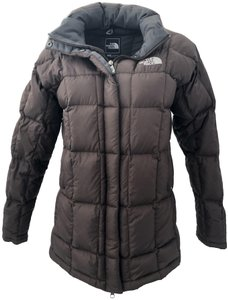 The North Face Brown Puffer Coat Size 4 (S) - Tradesy 9330532a7