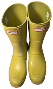 Hunter Chartreuse Boots