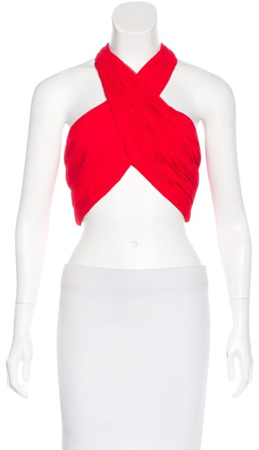 Item - Red And Halter Top Size 2 (XS)