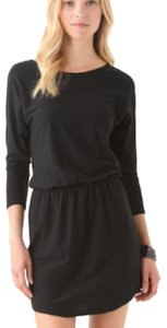 SOLOW short dress Black on Tradesy