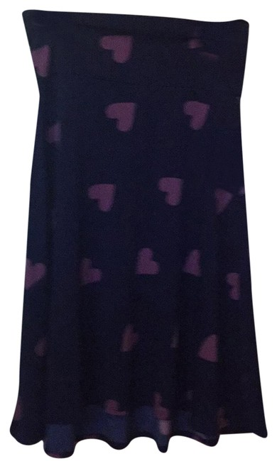 Item - Blue and Rose Skirt Size 10 (M, 31)