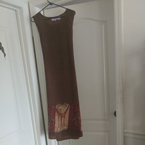 Brownish Maxi Dress by California Waves