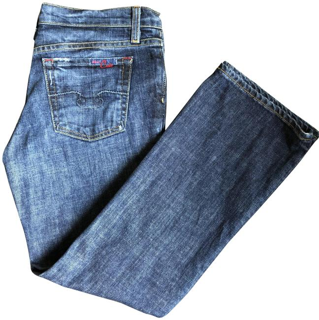 Item - Ink Medium Wash Straight Leg Jeans Size 28 (4, S)