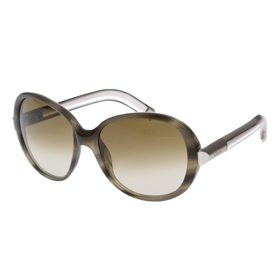 f855c0198cb2 Chloé New With Case and Cards Horn Tortoise W  Lucite Sunglasses ...